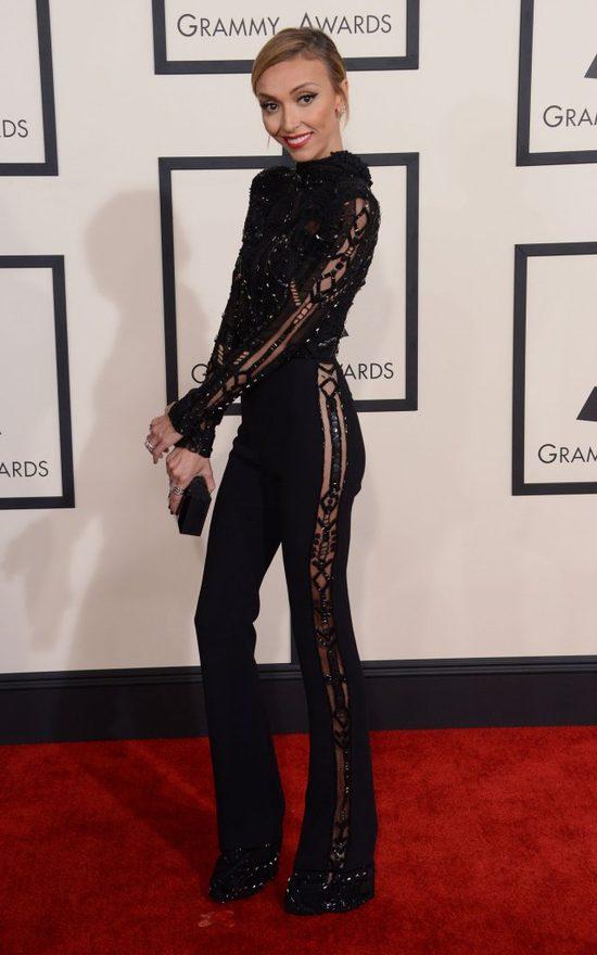 Giuliana Rancic najszczuplejsza na gali Grammy (FOTO)