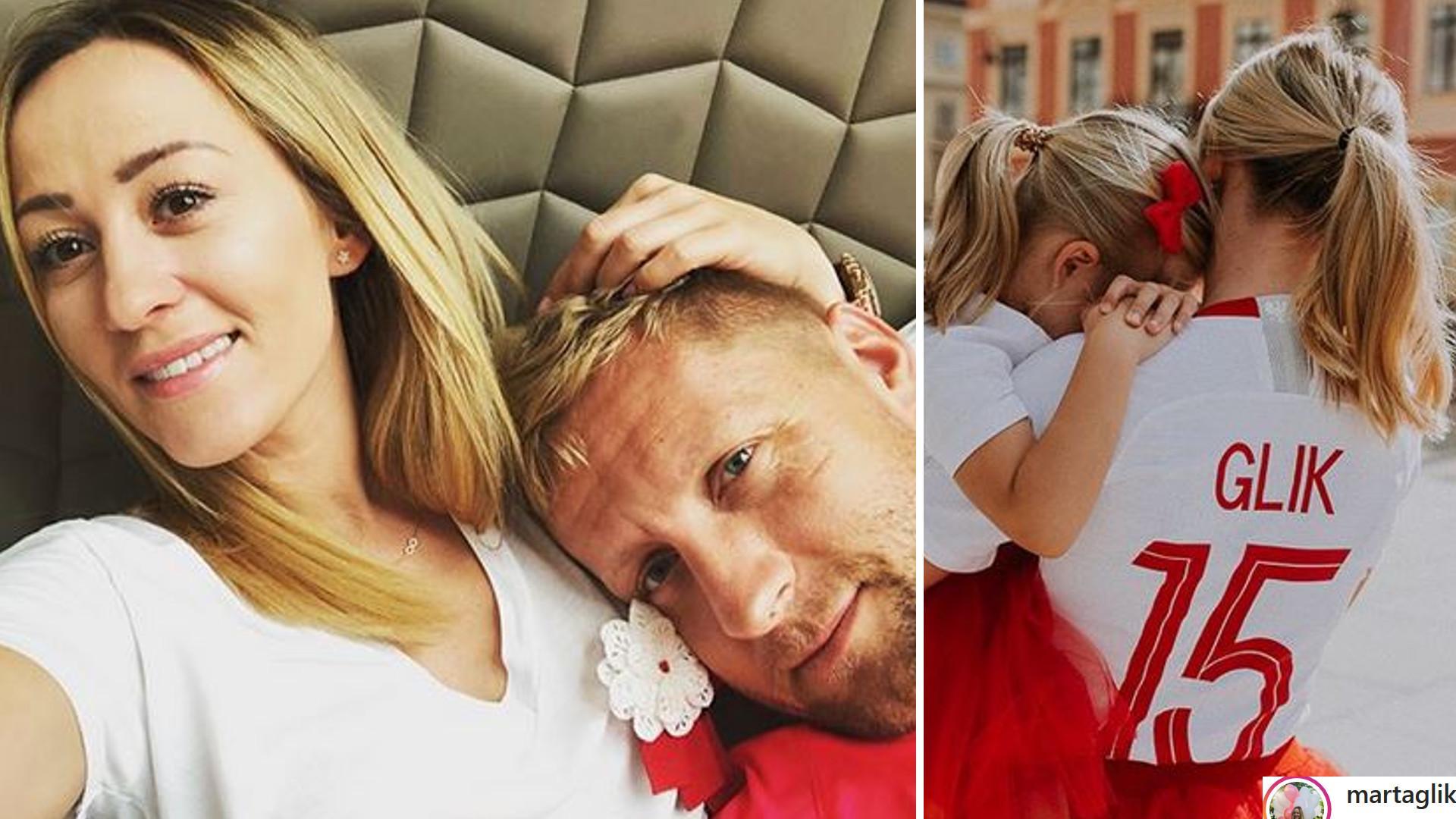 Marta Glik z córeczką są już gotowe na KIBICOWANIE (Instagram)
