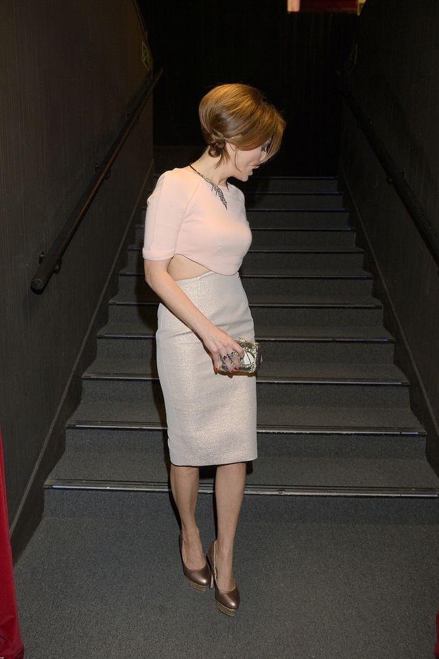 Kasia Glinka pokazała ciało na urodzinach teatru (FOTO)