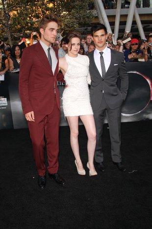 Robert Pattinson Kristen Stewart Taylor Lautner