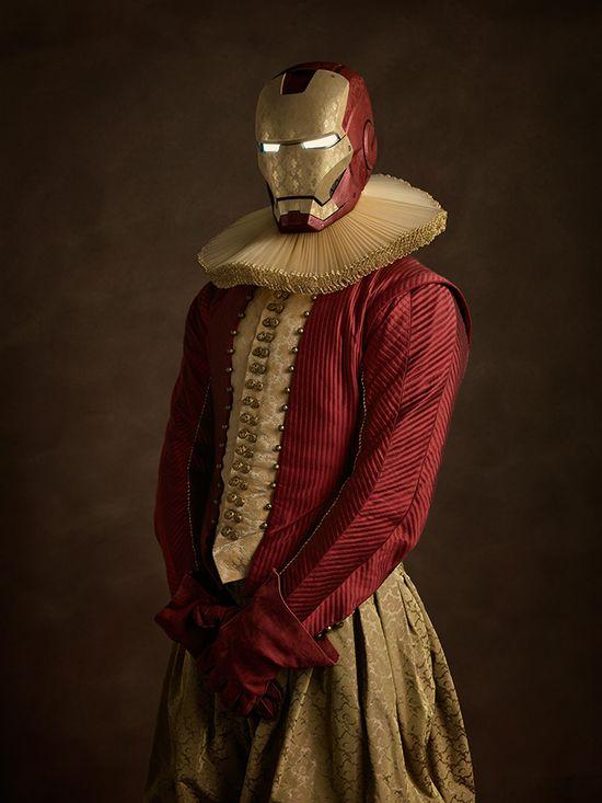 Superbohaterowie na zdjęciach Sachy Goldbergera