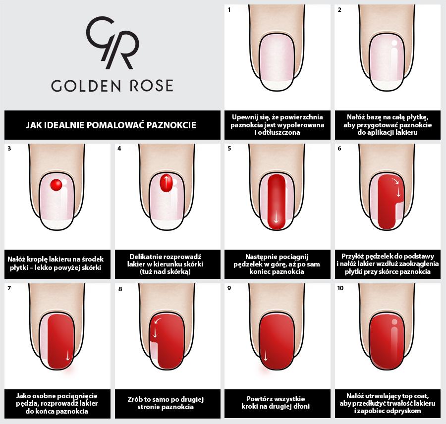 Pi�kny manicure przez 7 dni? Z Golden Rose to proste!