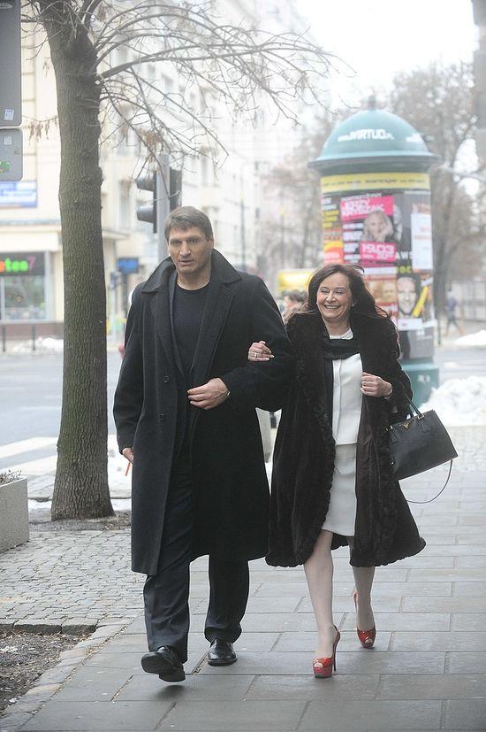 Mariola Gołota wspiera męża przed walką z Saletą (FOTO)