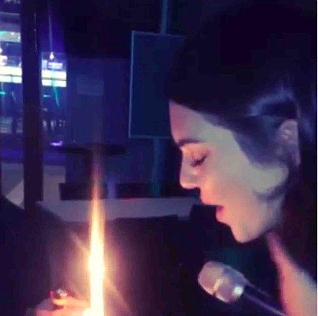Kendall Jenner świętuje w towarzystwie Gomez i Delevingne