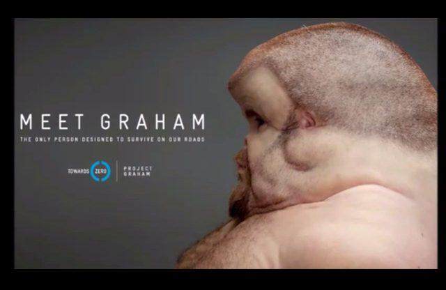Poznajcie Grahama - niezwykłego człowieka, który przetrwał wypadek