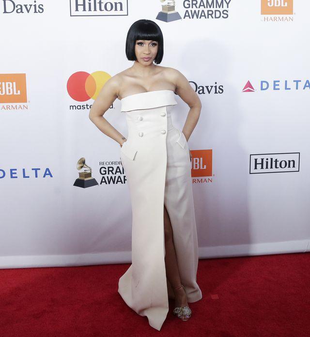 Obłędne kreacje gwiazd na Pre-Grammy 2018 (ZDJĘCIA)