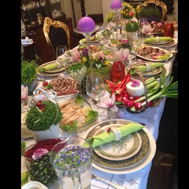 Kto tak pięknie nakrył wielkanocny stół?