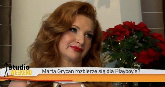 Marta Grycan: My�l�, �e Playboya na mnie nie sta�!