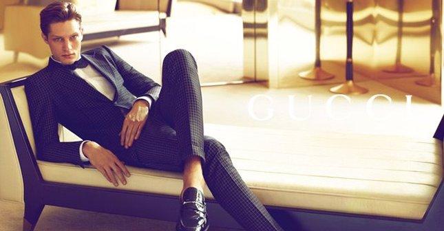 Grzegorz Nawrat – polski model twarzą Gucci (FOTO)