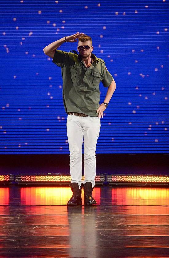 Grzegorz �osiu z Got To Dance ma zadatki na gwiazd� (FOTO)