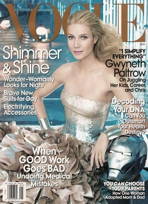 Gwyneth Paltrow dla Vogue