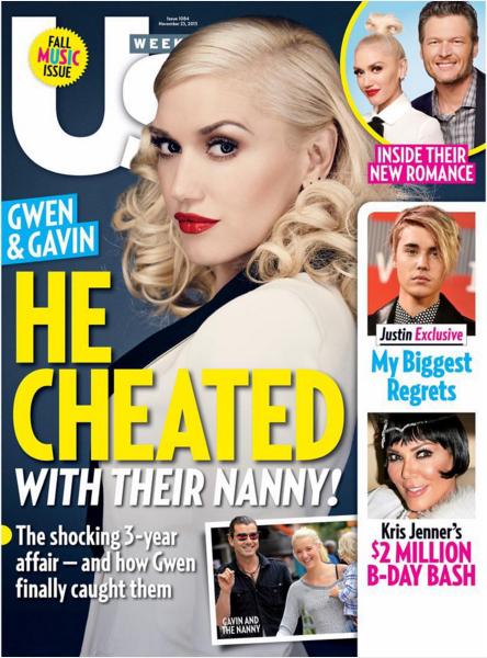 Gdy Gwen Stefani rodziła mu syna, on spał z nianią!