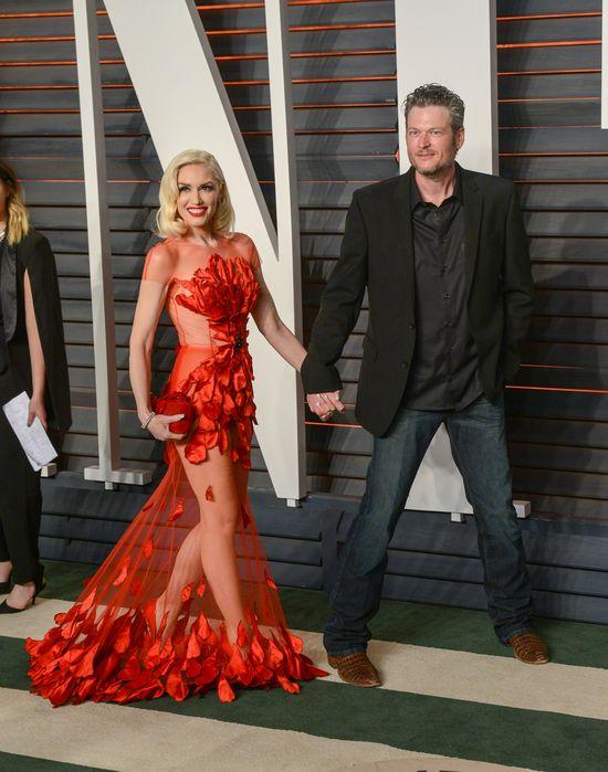 Gwen i Blake Sheldton debiutują na salonach jako para