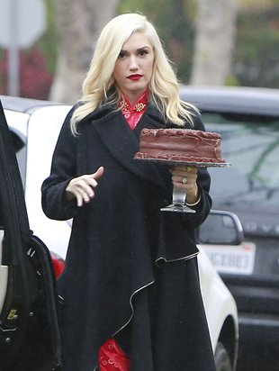 Gwen Stefani z wizytą u przyjaciół (FOTO)