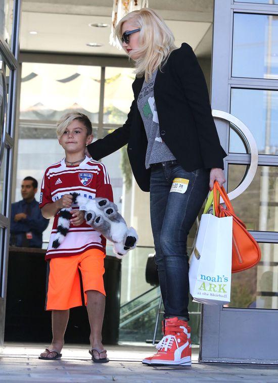 Gwen Stefani z synkami (FOTO)
