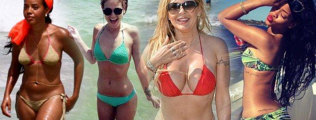 Gwiazdy w bikini – zdjęcia bez retuszu (FOTO)