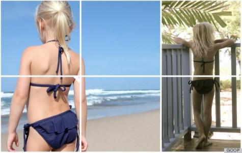 Gwyneth Paltrow skrytykowana za promocję bikini dla dzieci