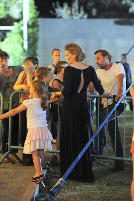 Były mąż Młynkovej oklaskuje ją na koncercie (FOTO)