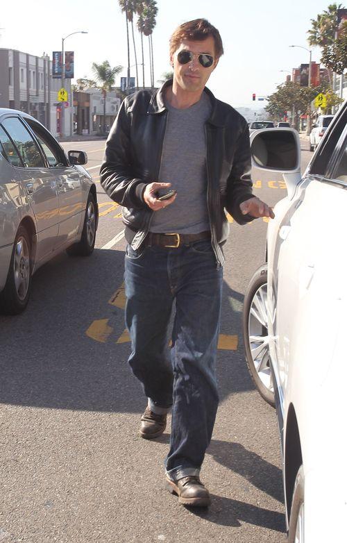 Halle Berry w drodze na lunch ze swoim chłopakiem (FOTO)