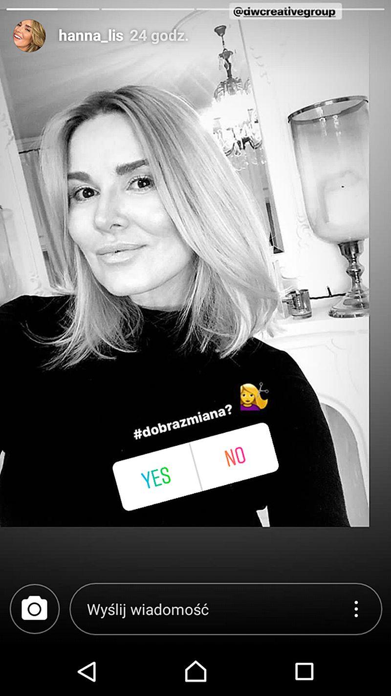 Żegnajcie DŁUGIE włosy Hanny Lis - dziennikarka ma teraz nową, krótką fryzurę