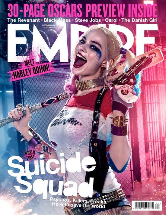 Robbie BŁAGA producentów, by pozowlili jej jeszcze raz zagrać Harley Quinn!