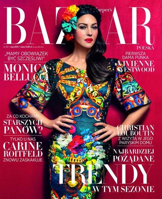 Monika Belluci w wywiadzie dla Harper's Bazaar