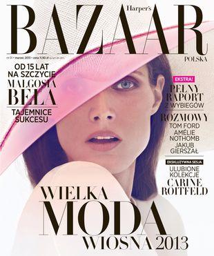 Małgosia Bela na okładce polskiego Harper's Bazaar (FOTO)