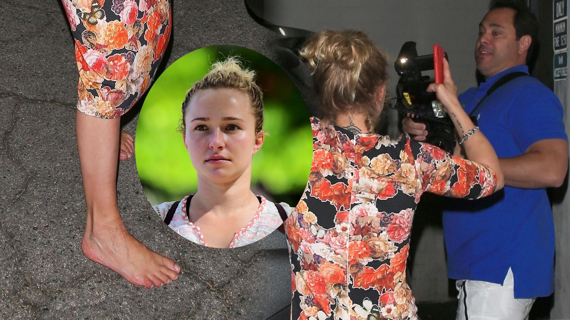 Co ona wyprawia? Hayden Panettiere z NOWYM facetem przegania paparazzi (ZDJĘCIA)