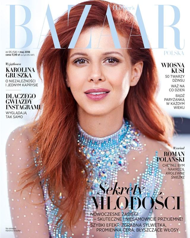 Karlina Grusza na okładce Harper's Bazaar! Opowiada o swojej niezależności