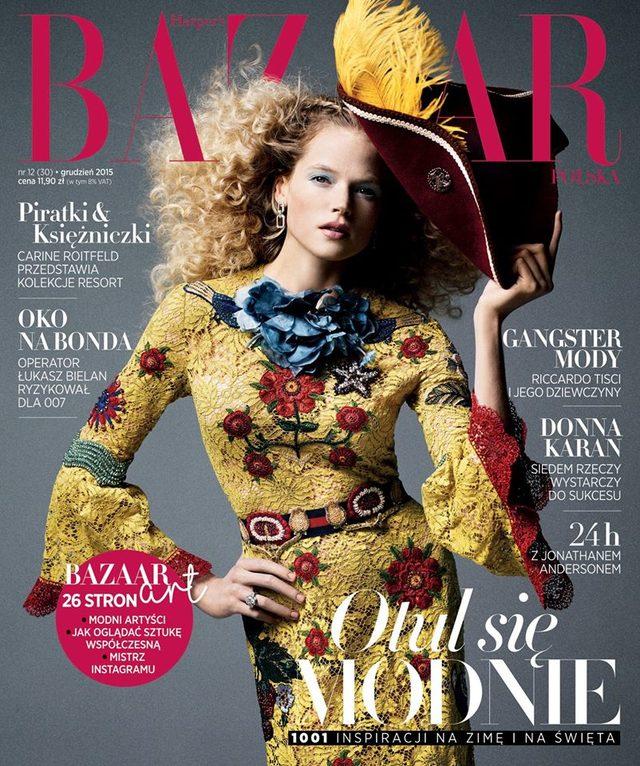Harper's Bazaar na grudzień - co ciekawego w magazynie?