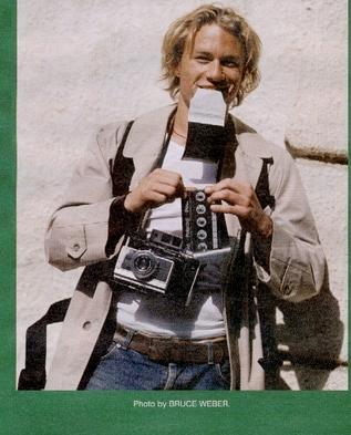 Heath Ledger w Interview Magazine
