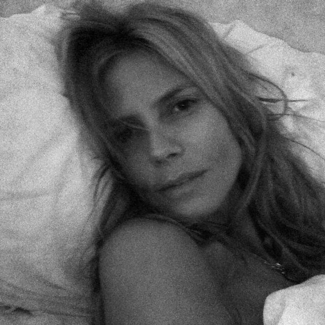 Heidi Klum pokaza�a si� bez makija�u (FOTO)