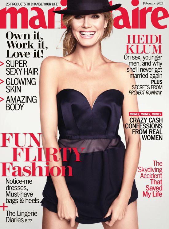 Heidi Klum: Odnawiałam przysięgę małżeńską, ale ślub nie jes