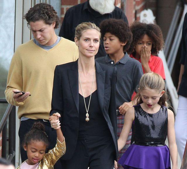 Heidi Klum spędza święta z dwoma mężczyznami jej życia