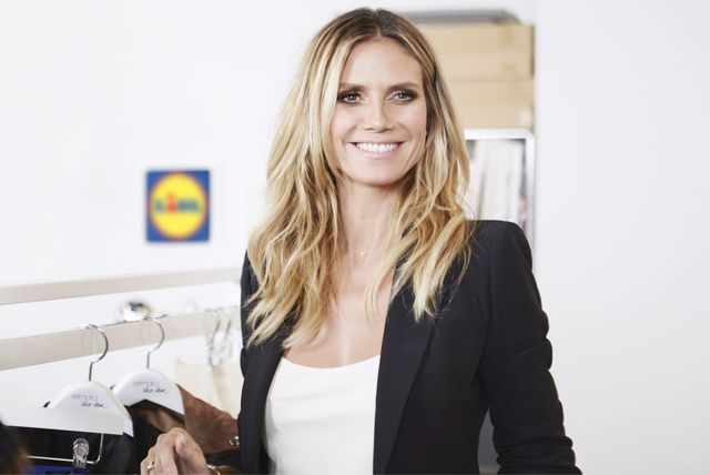 #LETSWOW, czyli Heidi Klum dla sieci Lidl