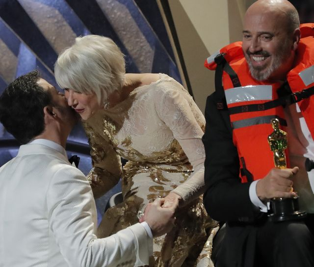 Helen Mirren wygrała Oscary pijąc tequilę na czerwonym dywanie i siadając na...