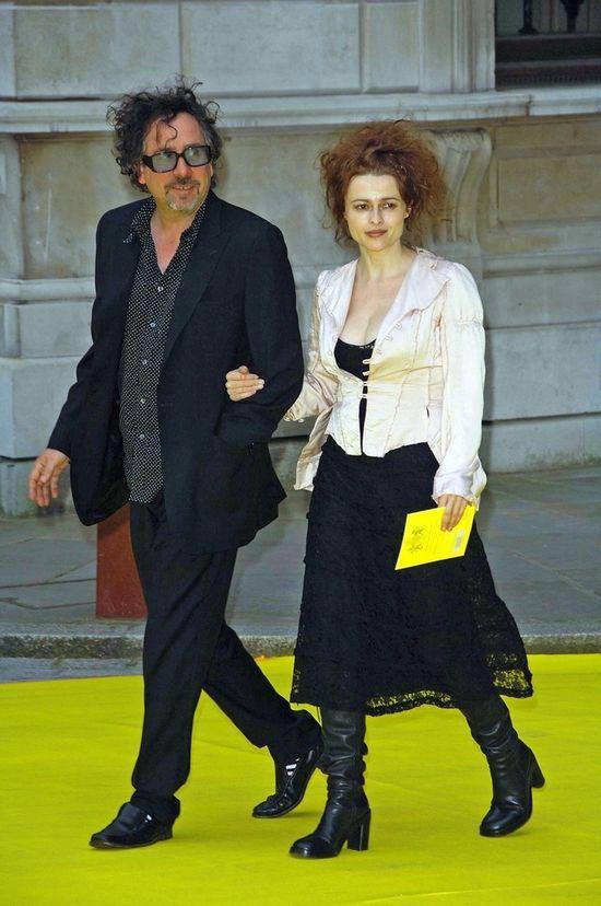 Helena Bonham Carter już nie wygląda jak bohaterka Burtona