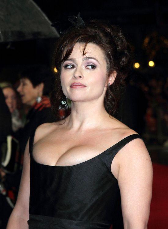 Helena Bonham-Carter na premierze Wielkich Nadziei (FOTO)