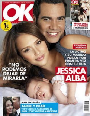 """Jessica Alba """"ukradła\"""" imię dla dziecka"""
