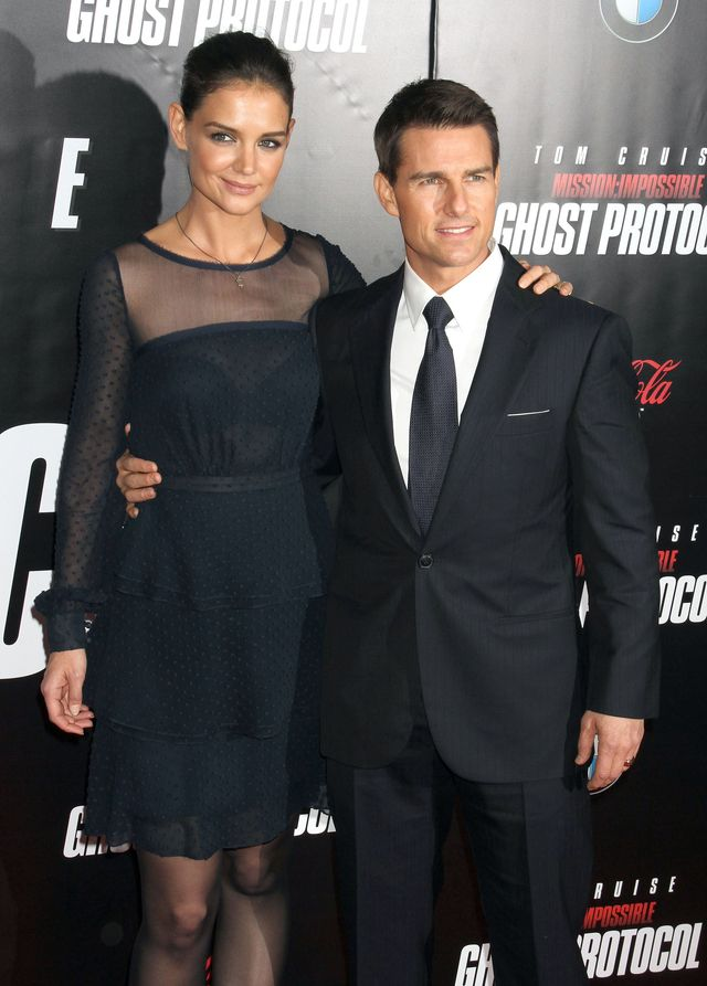 Jak Katie Holmes wspomina małżeństwo z Tomem Cruisem?