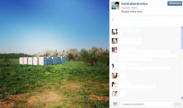 Honey pokazała miejsce, w którym buduje swój dom (FOTO)