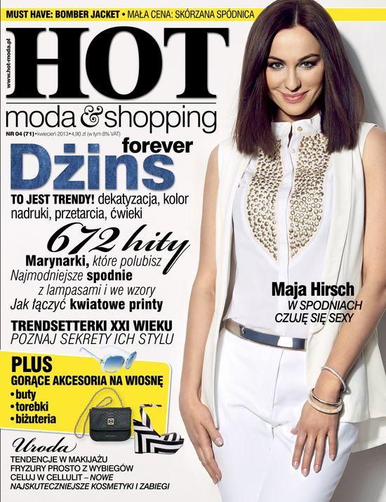 Maja Hirsch w HOT: Inspiruje mnie styl Angeliny Jolie