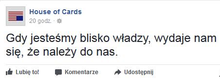 Twórca House of Cards komentuje sytuację w Polsce!