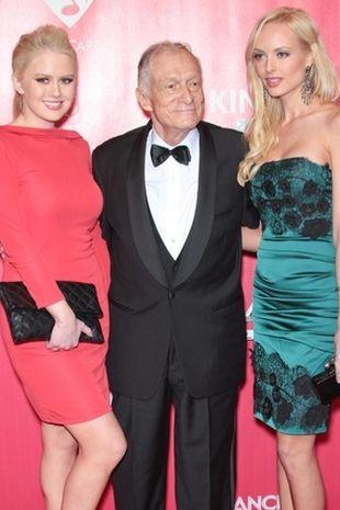 Hugh Hefner nadal ma wzięcie (FOTO)