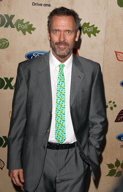 Hugh Laurie wyszedł z premiery własnego filmu