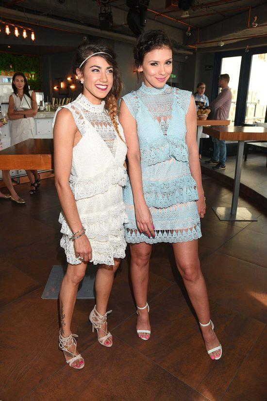 Hyży i Halejcio w niemal identycznych sukienkach (FOTO)
