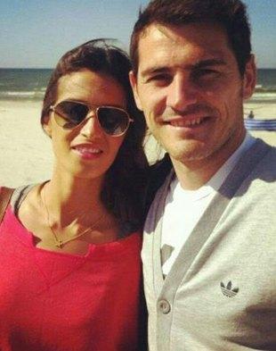 Iker Casillas i Sara Carbonero nad Bałtykiem