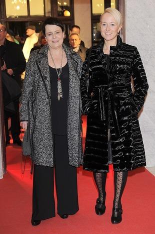 Ilona Łepkowska z córką Weroniką Wojnach  (FOTO)