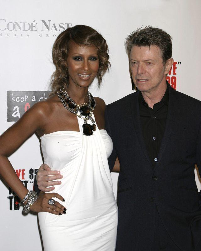 Iman, wdowa po Davidzie Bowiem, żegna męża pięknymi słowami