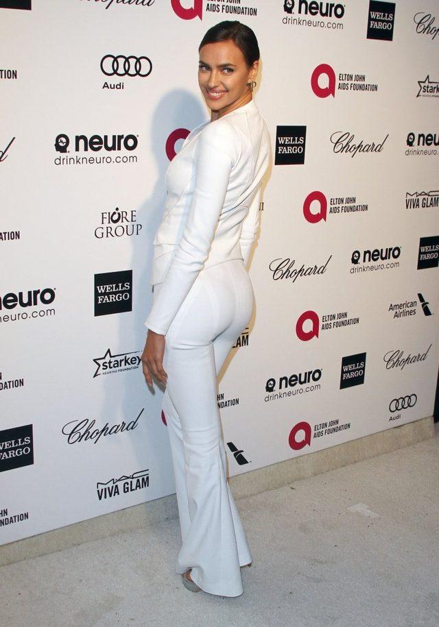 Irina Shayk na imprez� przysz�a bez majtek (FOTO)